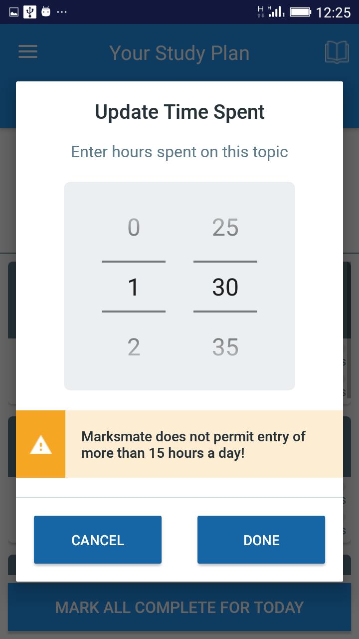 MarksMate demo